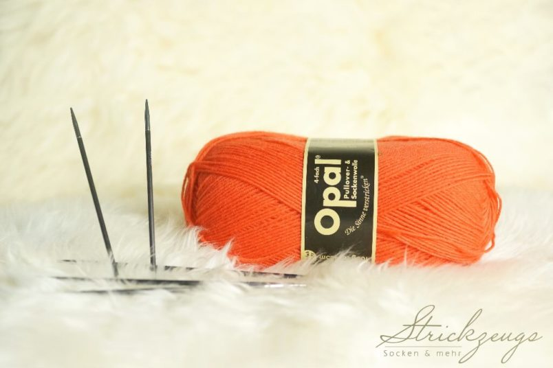 Opal Die Sinne verstricken Orange