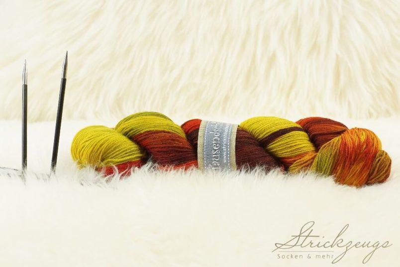 Tausendschoen Sockenwolle Goldener Oktober